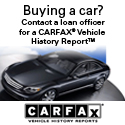 Buying a car? Contact a loan officer for a CARFAX vehicle history report.